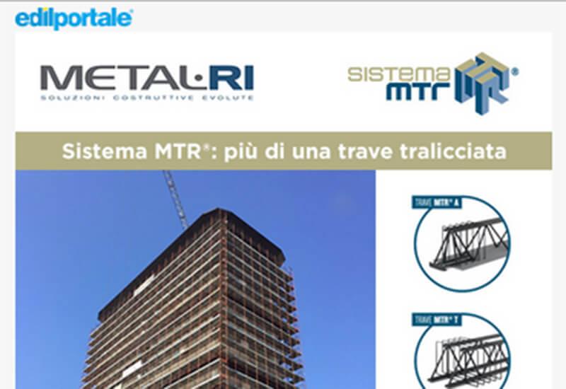 DEM Edilportale: Sistema MTR®, più di una trave tralicciata.