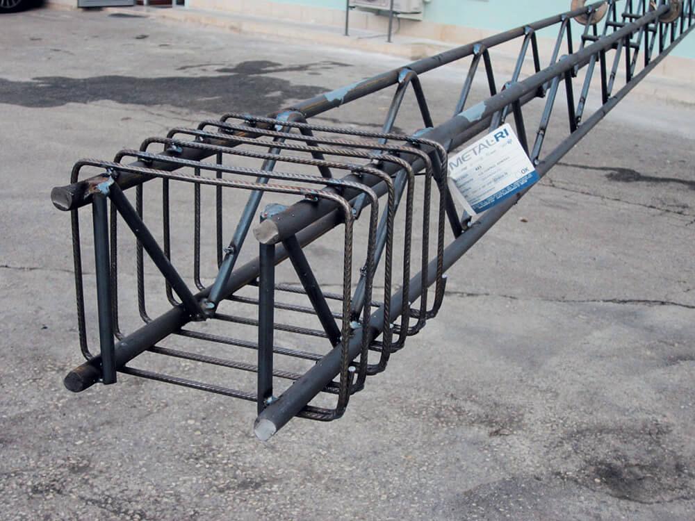 Cartellino montaggio - Travi tralicciate MTR® T