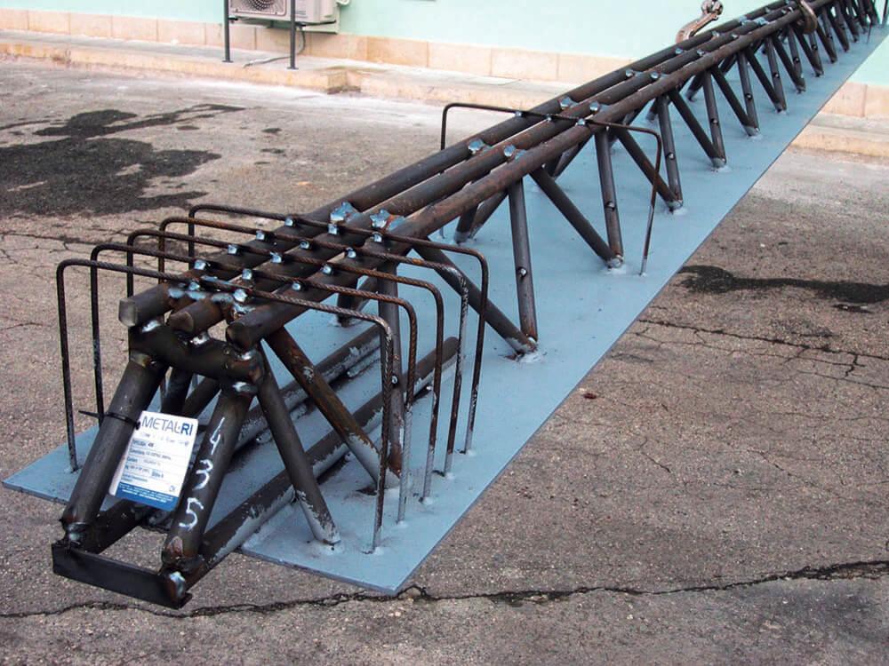 Cartellino montaggio travi tralicciate MTR® A