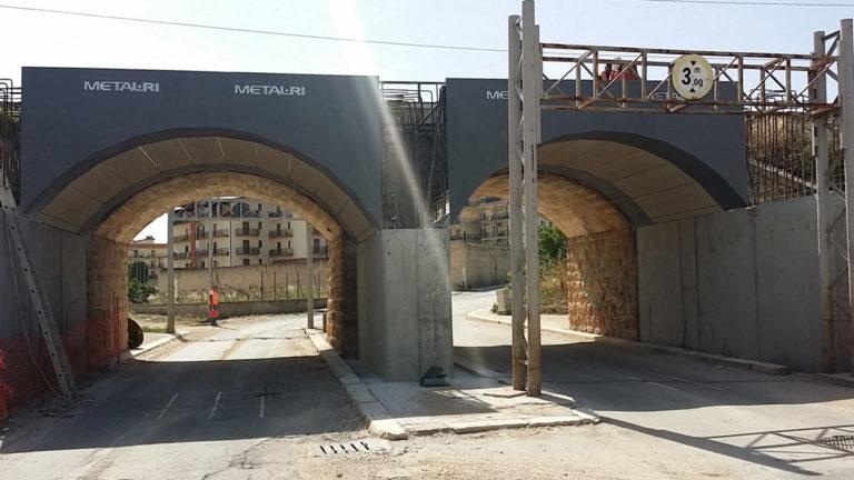 """Ponte per raddoppio ferroviario – Tratta """"Bracco"""""""