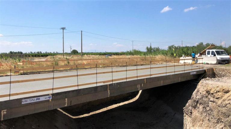 n. 4 ponti nell'ambito dei lavori di sistemazione idrogeologica