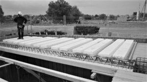 Travi tralicciate MTR® C con solaio predalles - Metal.Ri