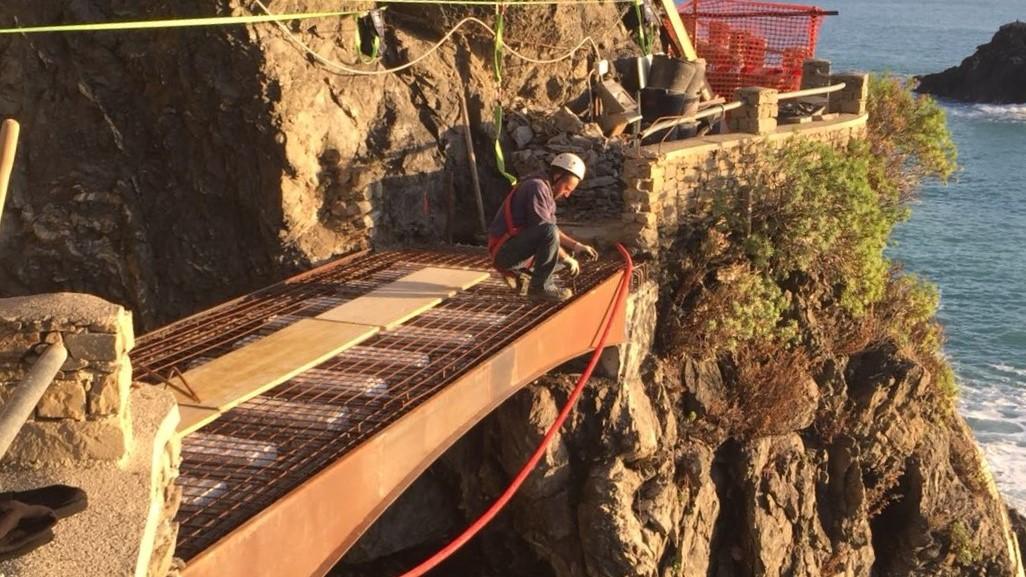 Sistema MTR per realizzazione di ponti e passanti - Cinque Terre 3