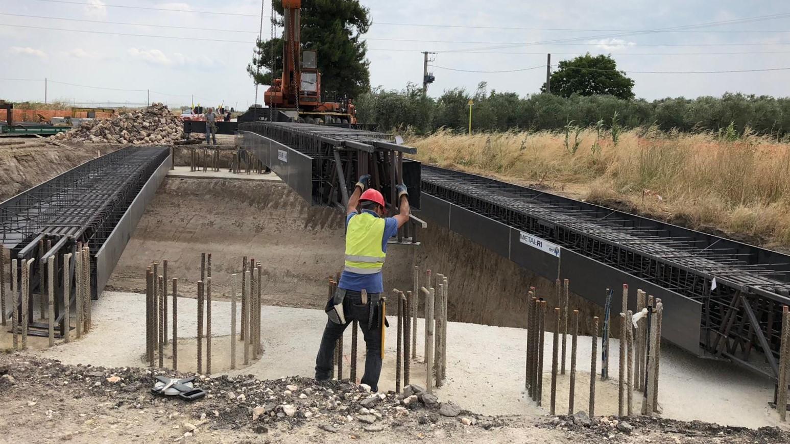 Sistema MTR per realizzazione di ponti e passanti - MTR A 11