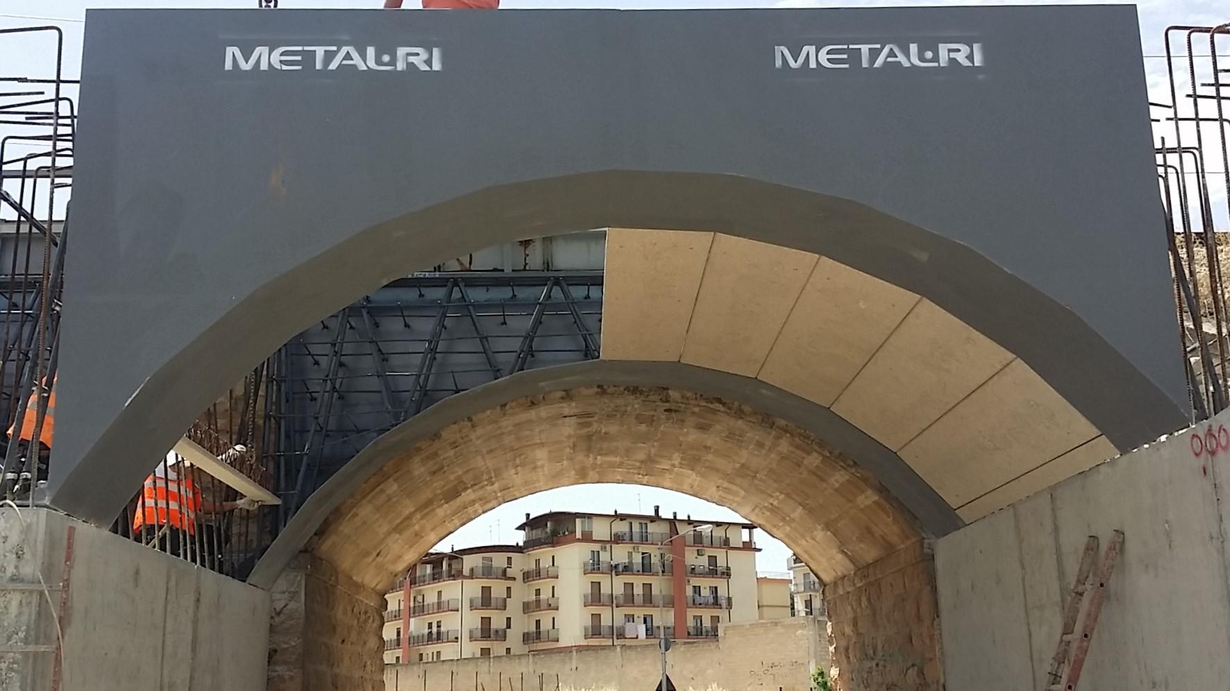 Sistema MTR per realizzazione di ponti e passanti - MTR A 2