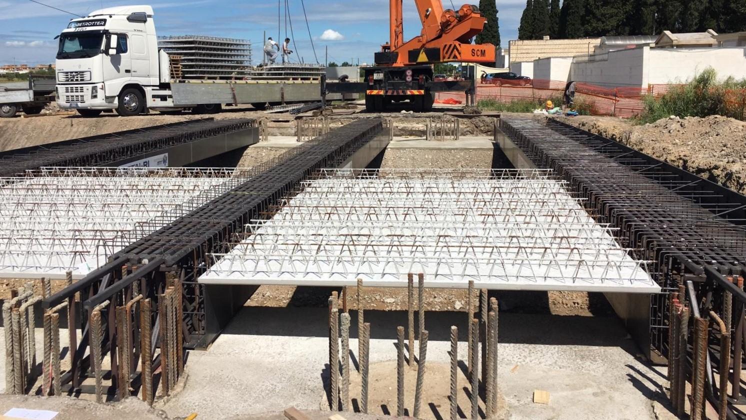 Sistema MTR per realizzazione di ponti e passanti - MTR A 22
