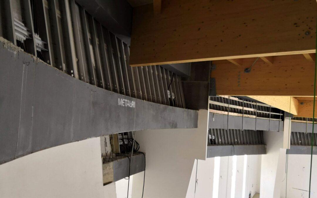 Una soluzione prefabbricata per strutture architettonicamente complesse