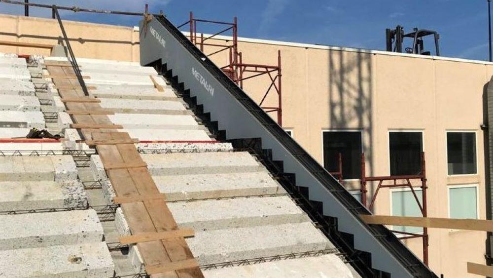 Trave sagomata a scalinata 3