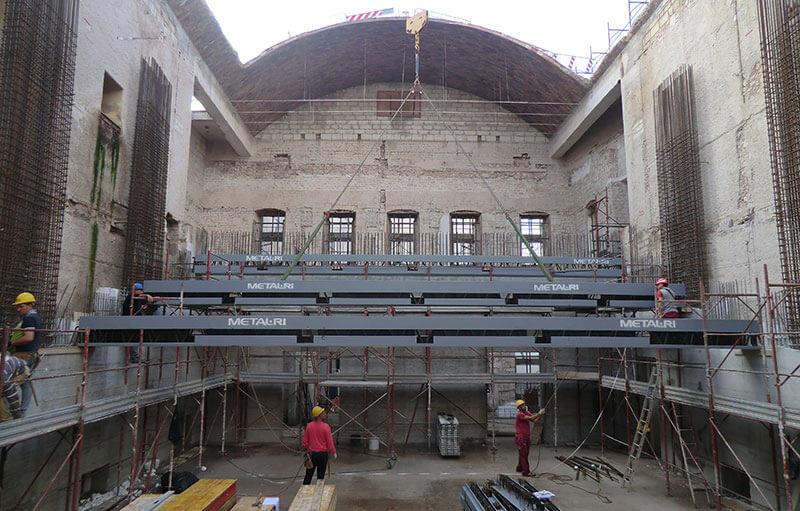 Restauro del teatro comunale di Putignano con il sistema MTR®
